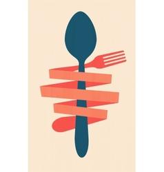 vintage restaurant menu retro poster vector image vector image