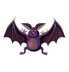 bat icon cartoon style vector image vector image