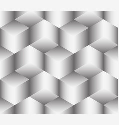 Abstract seamless of cubes vector