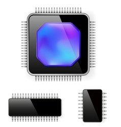 Computer microcircuit vector