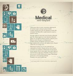 Healthcare background vector