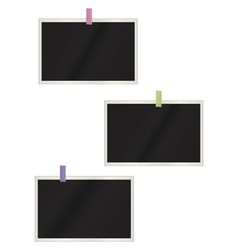 photos hanging background vector image