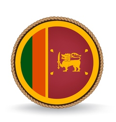 Sri Lanka Seal vector