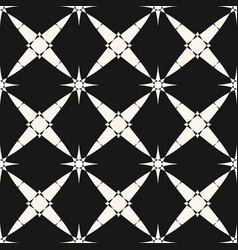 stars arabian indian arabesque vintage pattern vector image