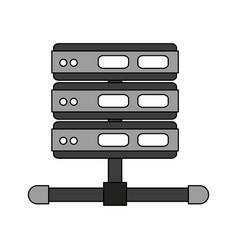 video projector vector image