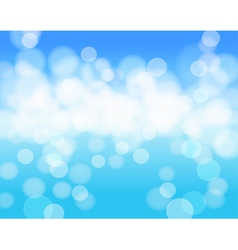 sky blue abstract background vector image