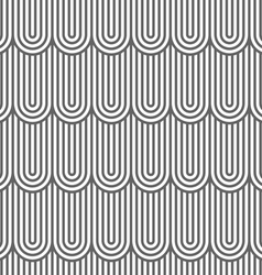 Striped flaked seamless pattern vector image vector image