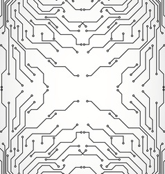 Circuit board background texture vector