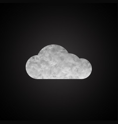 cloud background for your business vector image