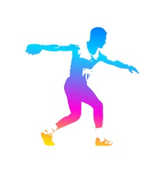 Discus Thrower vector image
