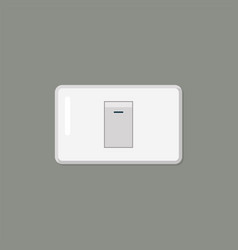 Electronic switch isolated on background vector
