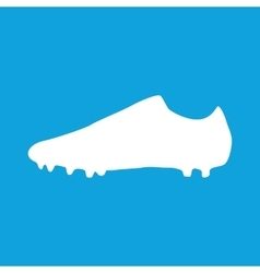 Football boots icon simple vector