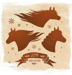 Horse symbol 2014 vector