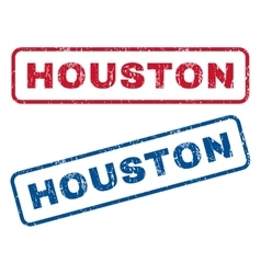 Houston Rubber Stamps vector