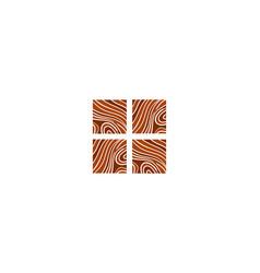 logo parquet laminate flooring tiles vector image