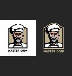master cook logo vector image