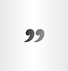 ninety nine 99 quotes icon symbol vector image