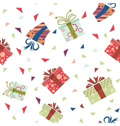 Presents pattern3 vector image