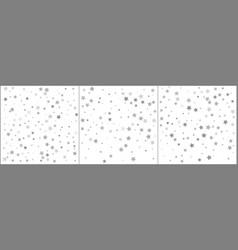 silver star confetti celebration backgrounds vector image