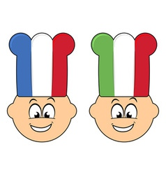 Happy cooks vector image