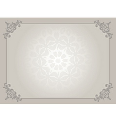 certificate background vector image vector image