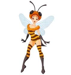 Fairy Bee vector image vector image