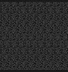 Abstract black pattern vector