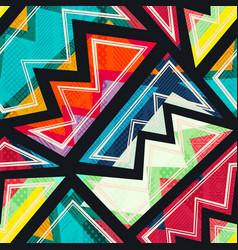 Aztec tribal seamless pattern vector