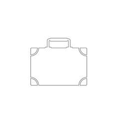 case flat icon vector image