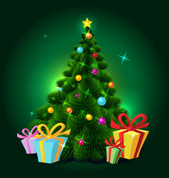 Christmas tree - vector image