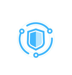 Cybersecurity icon data protection concept vector