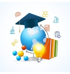 Education Sciense Concept vector image