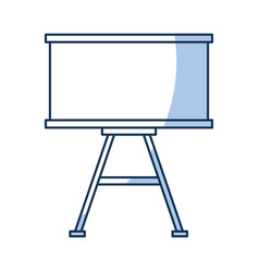 paperboard training isolated icon vector image