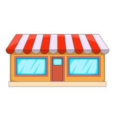 Shop icon cartoon style vector