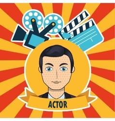 filmed entertainment vector image