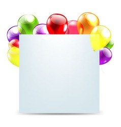 Funny Birthday Card vector image vector image