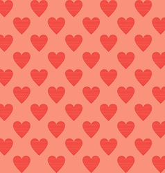 Heart Background Seamles Pattern Background vector image vector image