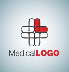 MEDICAL LOGO 11 vector image vector image