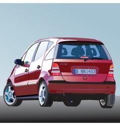 car illustration vector image