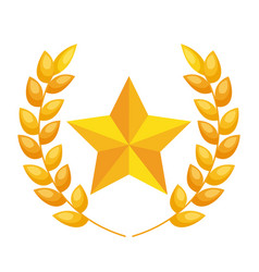 Cinema award trophy icon vector