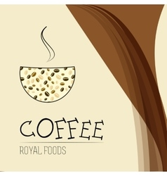 Coffee house icon Coffee shop vector image