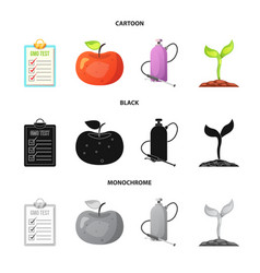 design of and logo set of and stock sy vector image