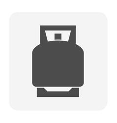 lpg gas tank icon vector image