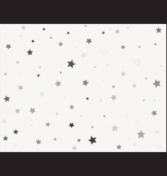 small stars on white background abstract texture vector image