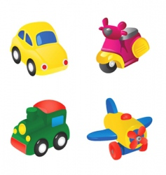 Toy illustration vector