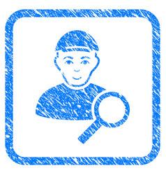 Search user framed stamp vector
