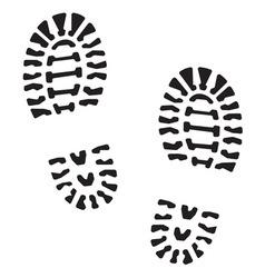 Otisak cipela4 resize vector image