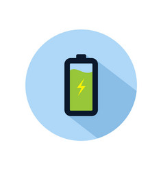 Battery charging icon charging battery power vector