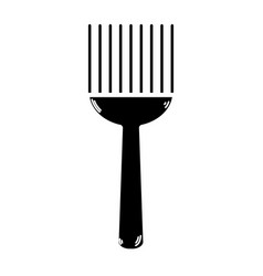 Contour fork kitchen utensil that used to cook vector