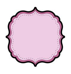 Frame decoration emblem vector
